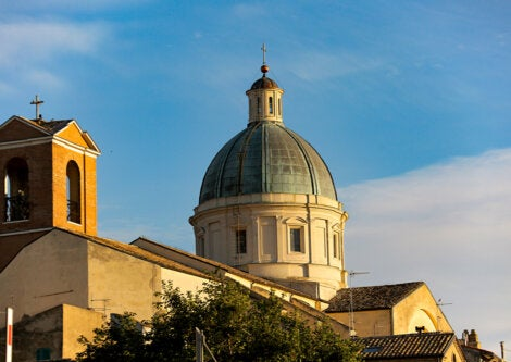 Basílica de Santo Tomás de Ortona, en Italia.