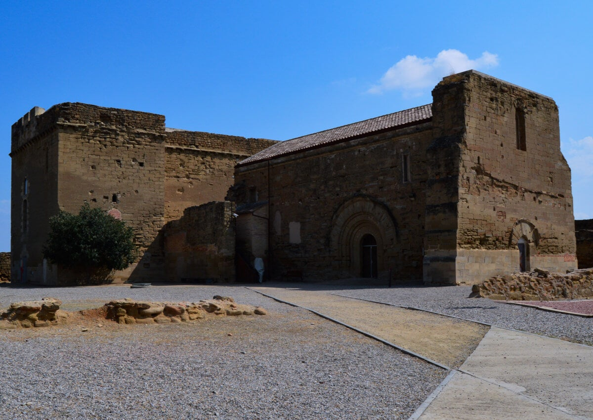 El Castillo de Gardeny es uno de los edificios históricos de Lérida.