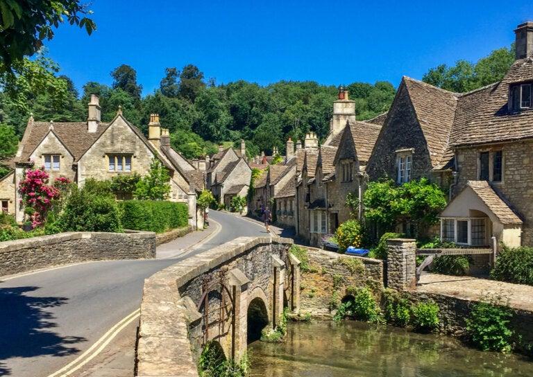 Historia de Castle Combe en Inglaterra