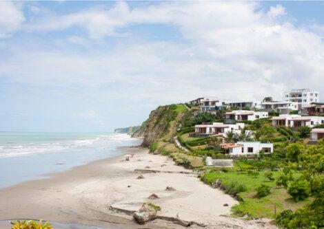 Jama es una de las playas de Manabí más conocidas.