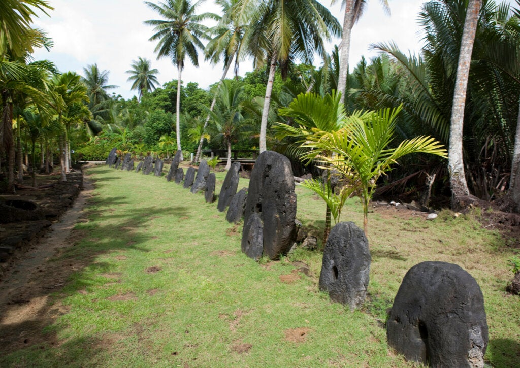 El dinero de piedra de Micronesia es uno de sus atractivos turísticos.