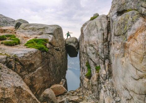 Kjerag es una de las más impresionantes montañas de Noruega.