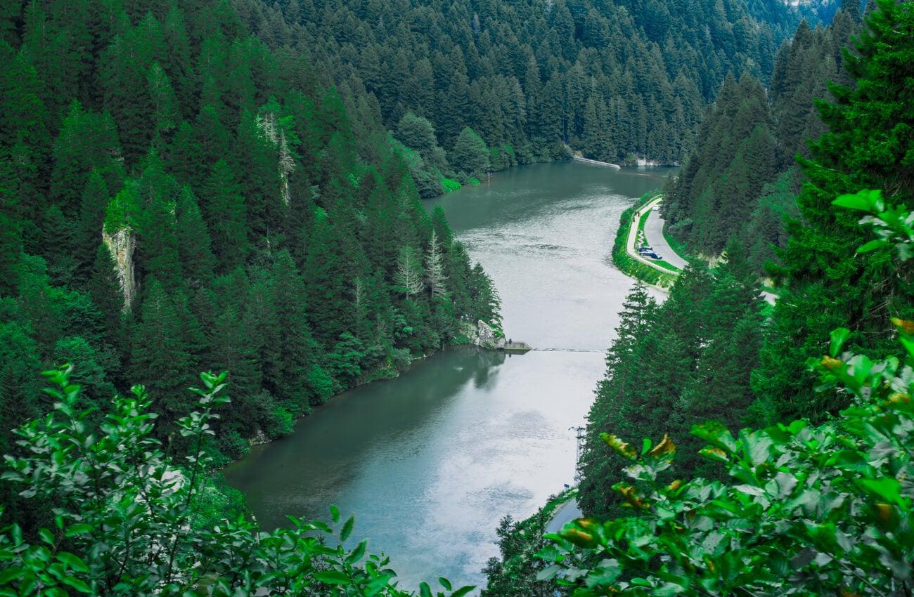 El lago Uzungol es además una reserva natural importante en Turquía.