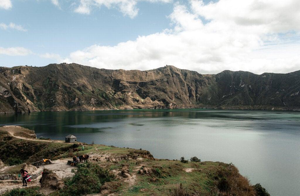 La laguna del Quilitoa se encuentra en Ecuador.