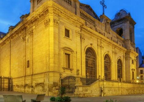 Seu Nova, una de las catedrales principales en Lérida.