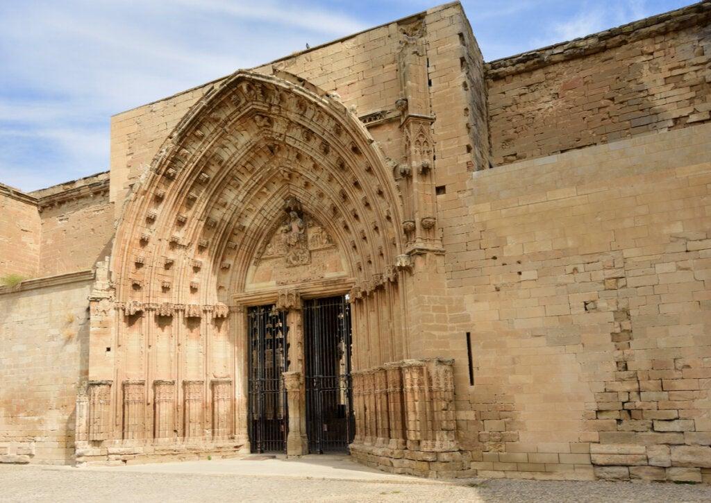 La Catedral Vieja es uno de los monumentos históricos de Lérida.