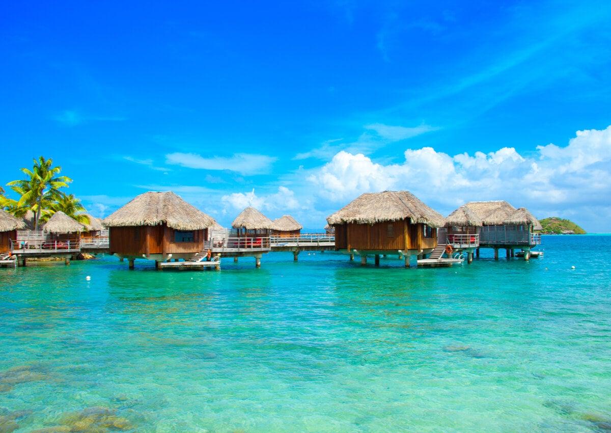 Alojamientos para las personas que desean practicar buceo en Bora Bora.