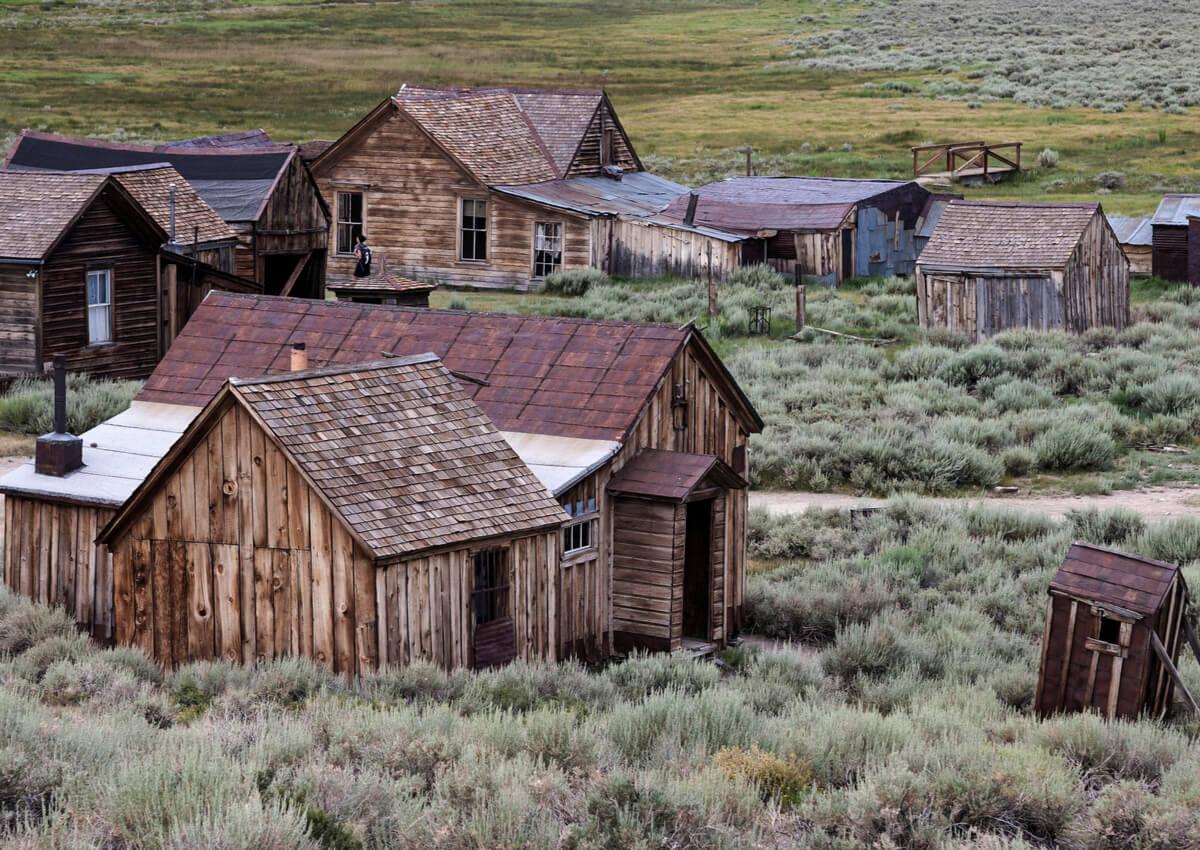 Bodie es un pueblo abandonado de los Estados Unidos.