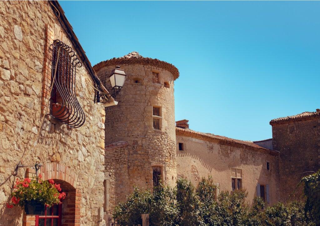 Uno de los castillos en el pueblo de Rennes-le-Château.