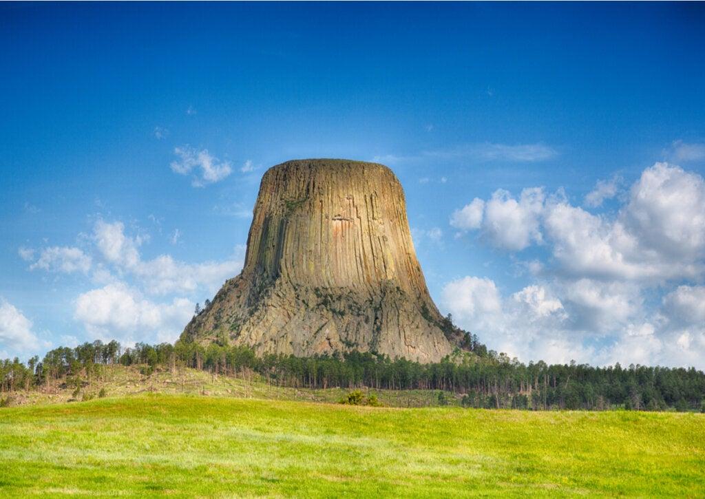 Monumento Nacional de la Torre del Diablo: ¿cuál es su historia?