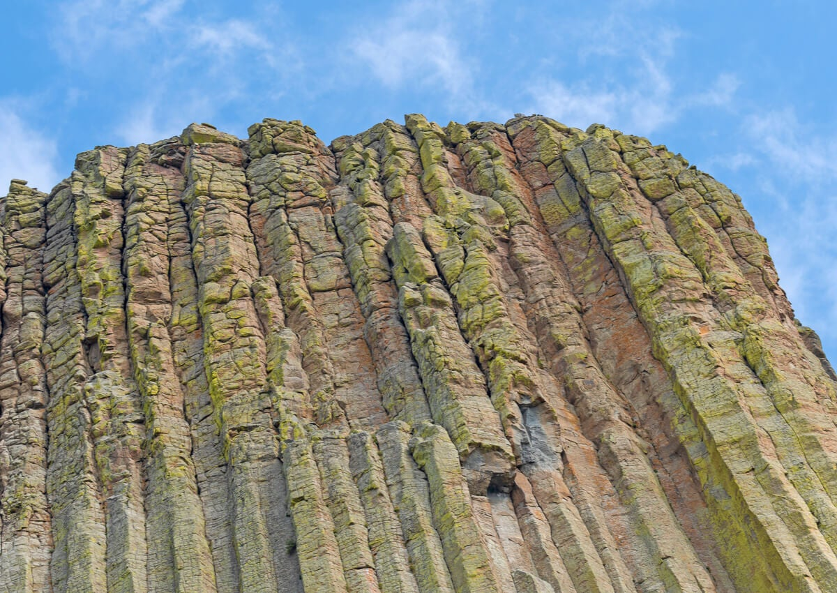 La erosión en las rocas de este monumento en Estados Unidos es muy llamativa.