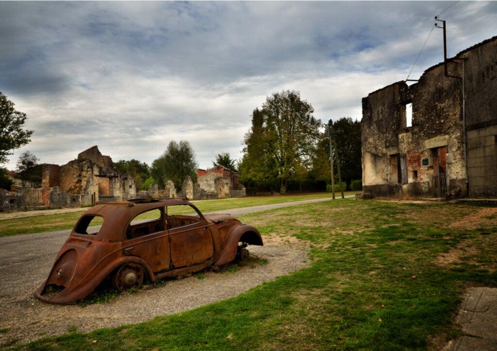 Oradour-sur-Glane, una de las ciudades abandonadas más peculiares del mundo.