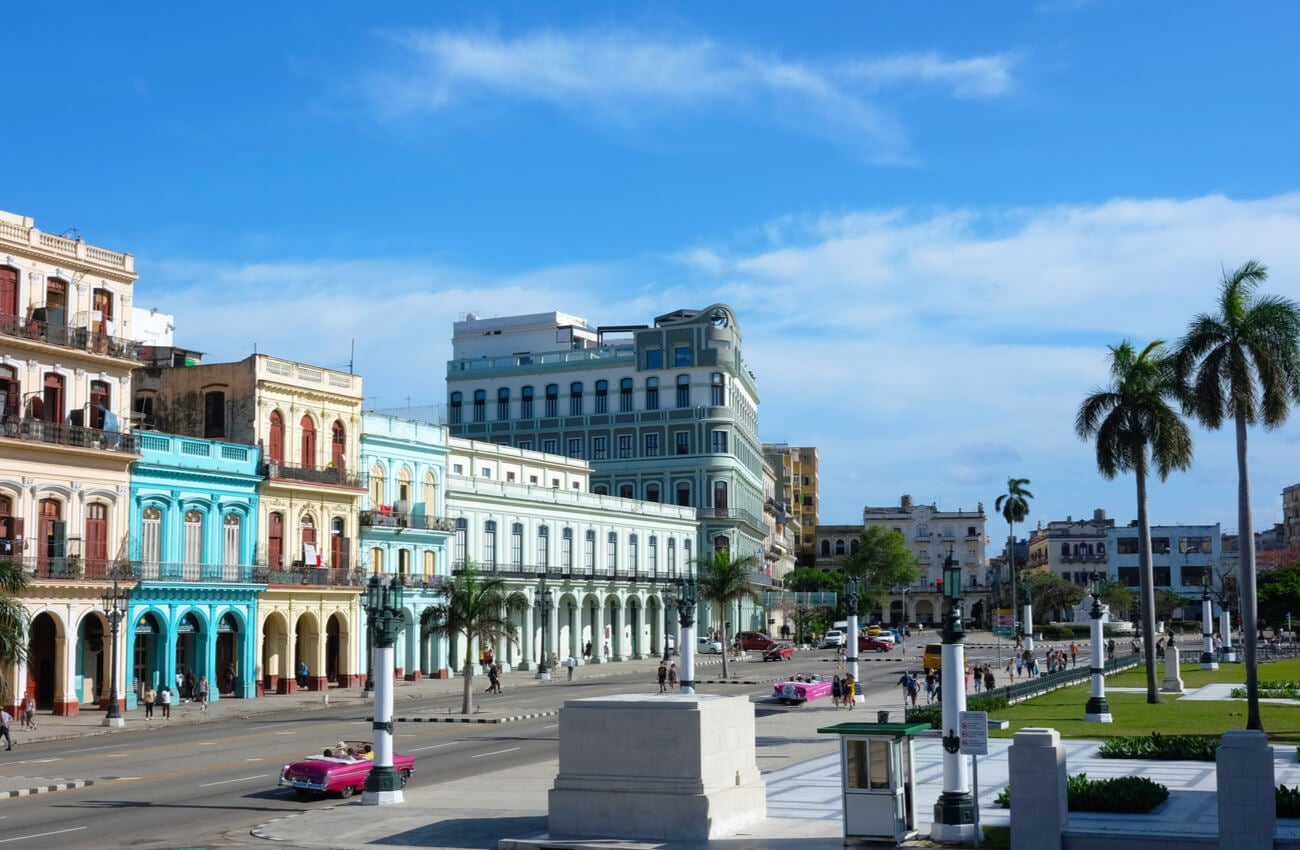 Paisaje urbano de La Habana, capital de Cuba.