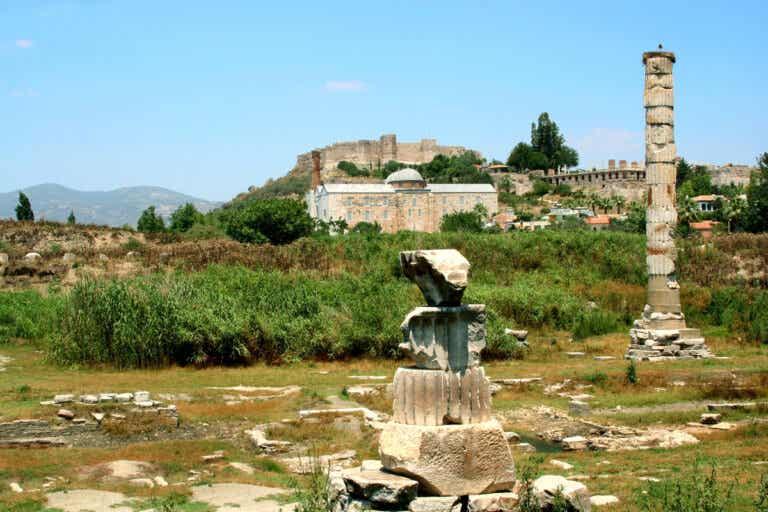 El templo de Artemisa, una maravilla de la Antigüedad