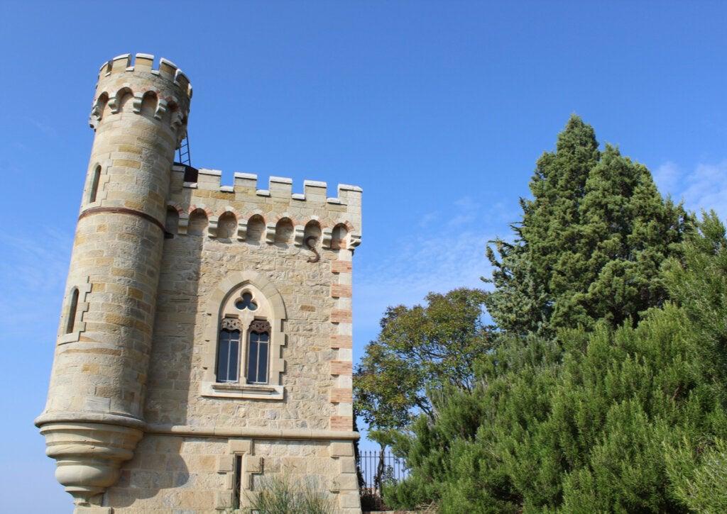 Se creía que el tesoro de Rennes-le-Château estaba en la Torre Magdala.