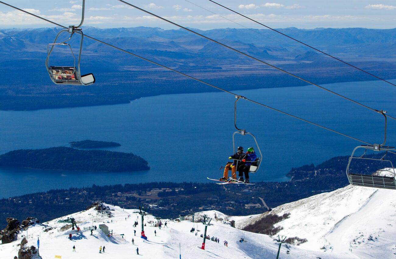 Bariloche es un destino ideal de la Patagonia para los deportes de invierno.