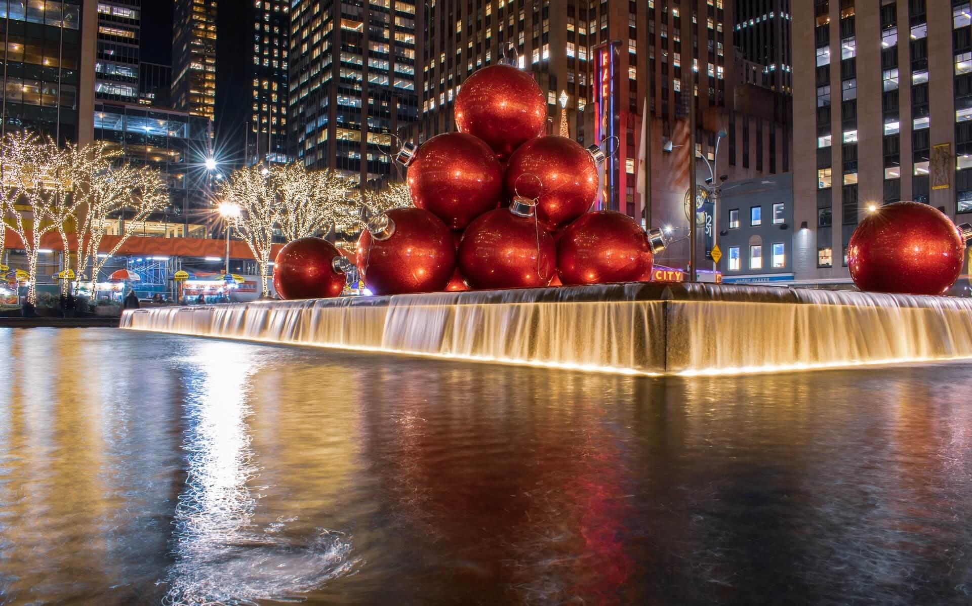 Nueva York es sin dudas uno de los mejores lugares para ir en Navidad.