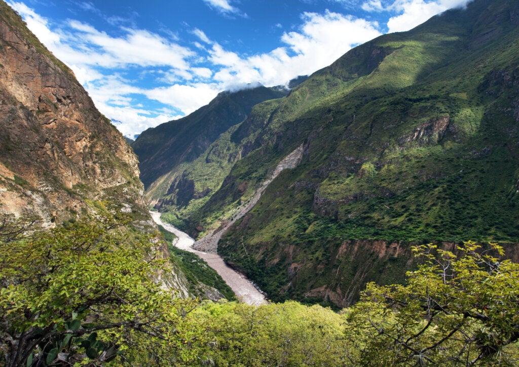 Cañón del río Apurimac: uno de los más profundos del mundo