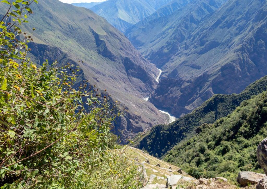 El cañón del Río Apurimac posee una belleza impresionante.