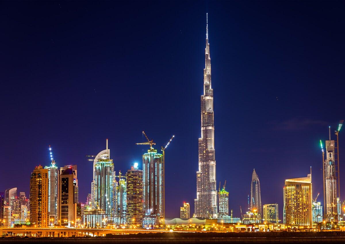 Burj Khalifa es uno de los miradores más impresionantes del mundo.