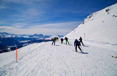 Graubünden es una región perfecta para los deportes de invierno.