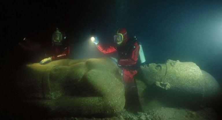Heracleion, la ciudad egipcia encontrada en el fondo del mar