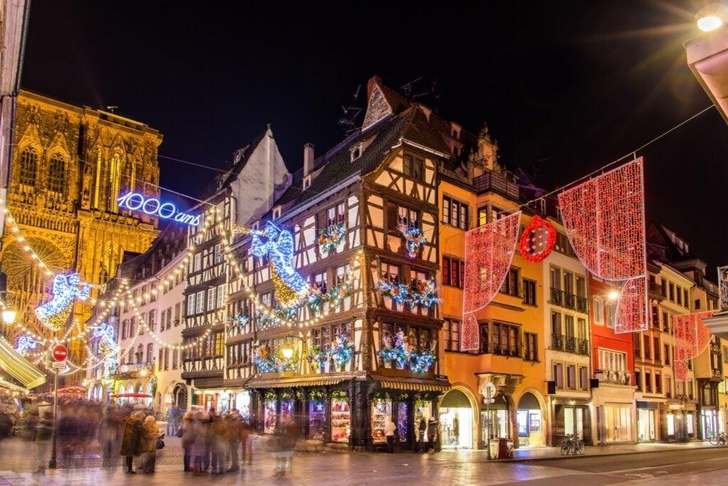 Estrasburgo es uno de los mejores sitios para ir en Navidad en todo el mundo.