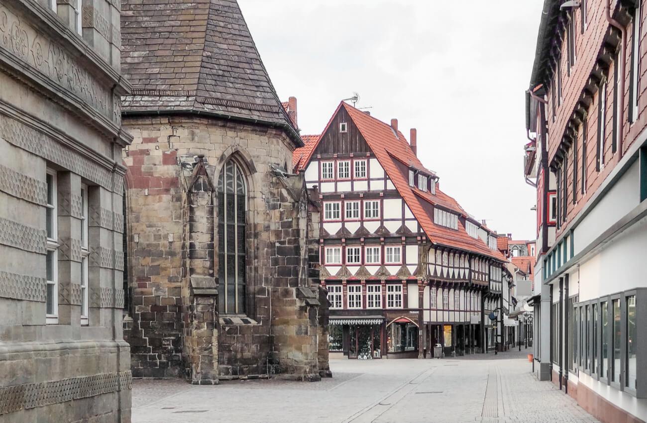 Hamelín es una ciudad de gran desarrollo durante los siglos pasados.