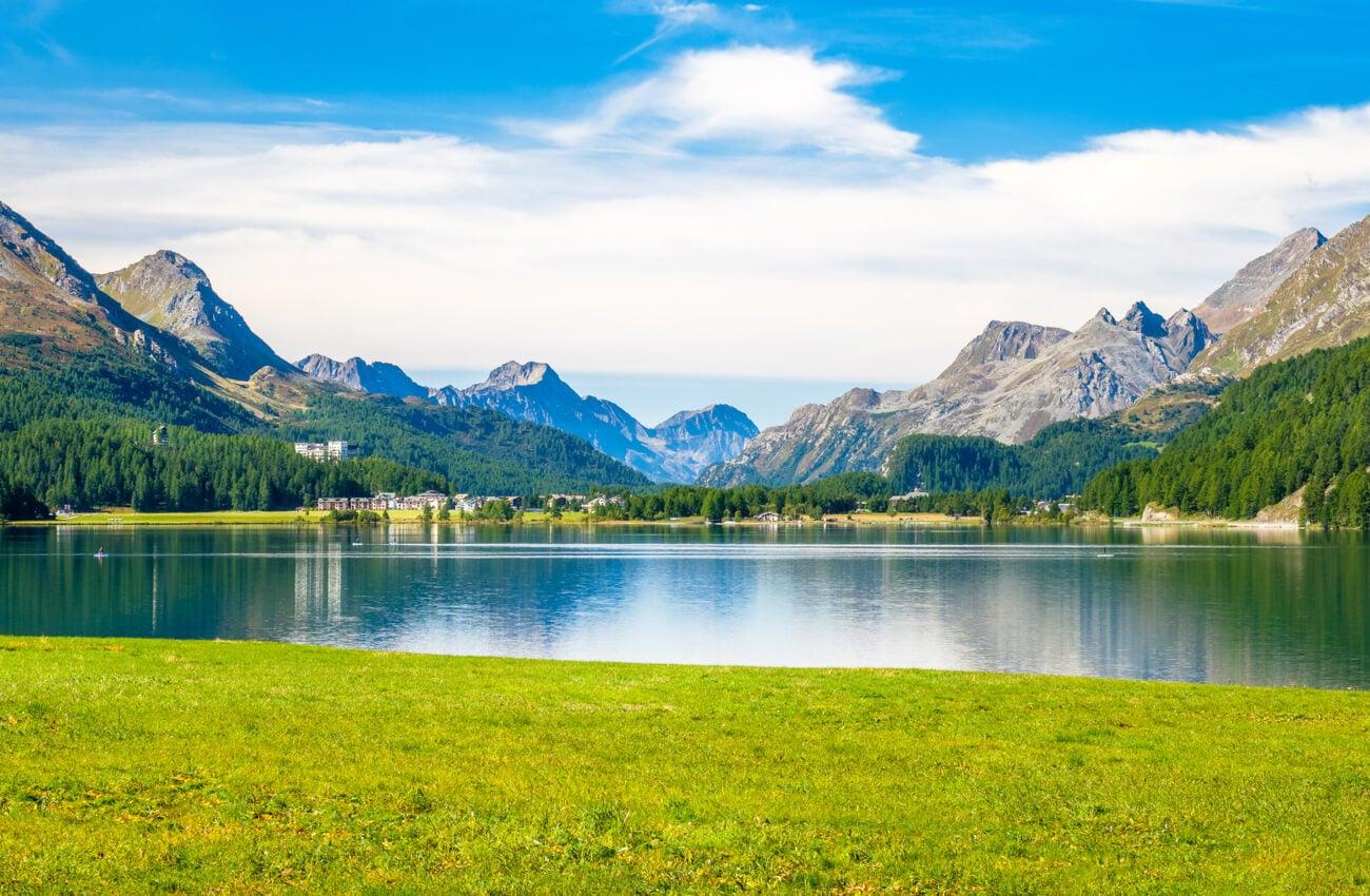 Graubunden es un cantón de Suiza especial para las actividades al aire libre.