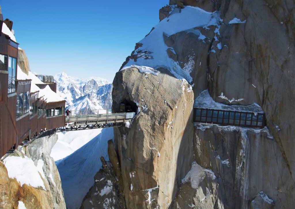 Este mirador en los Alpes franceses es uno de los más impresionantes del mundo.