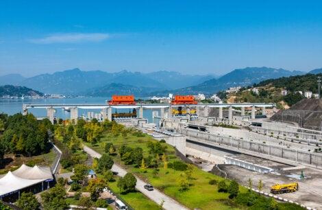 La represa de las tres gargantas es la obra más cara de la historia de China.