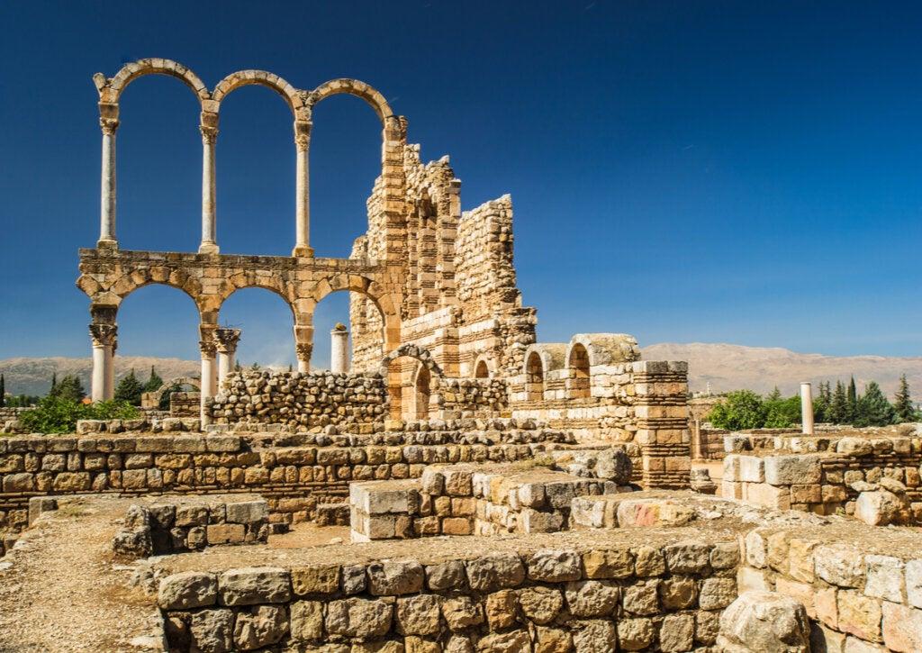 Las ruinas de Anjar: un yacimiento arqueológico espectacular