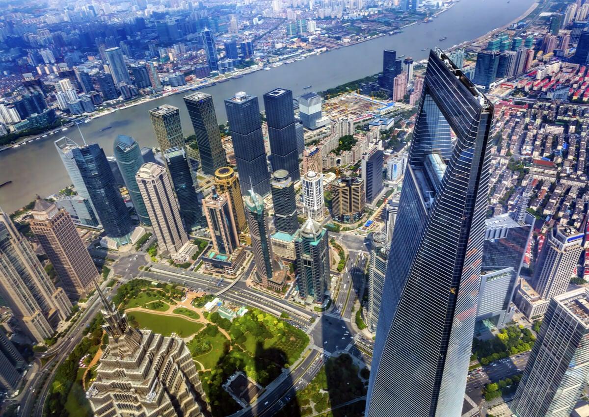 La Torre de Shangai ofrece vistas impresionantes de esta ciudad china.