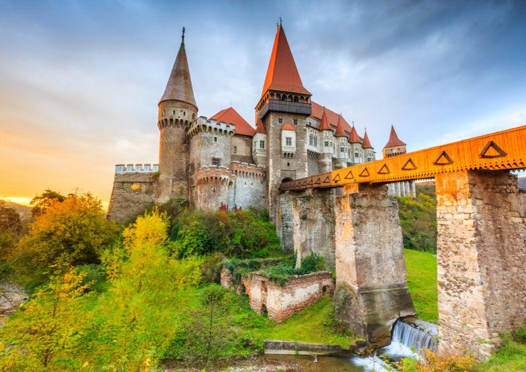 El castillo de Corvino: un magnífico lugar