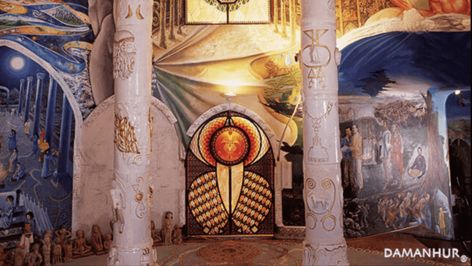 Los templos de Damanhur: curiosidades de estos templos