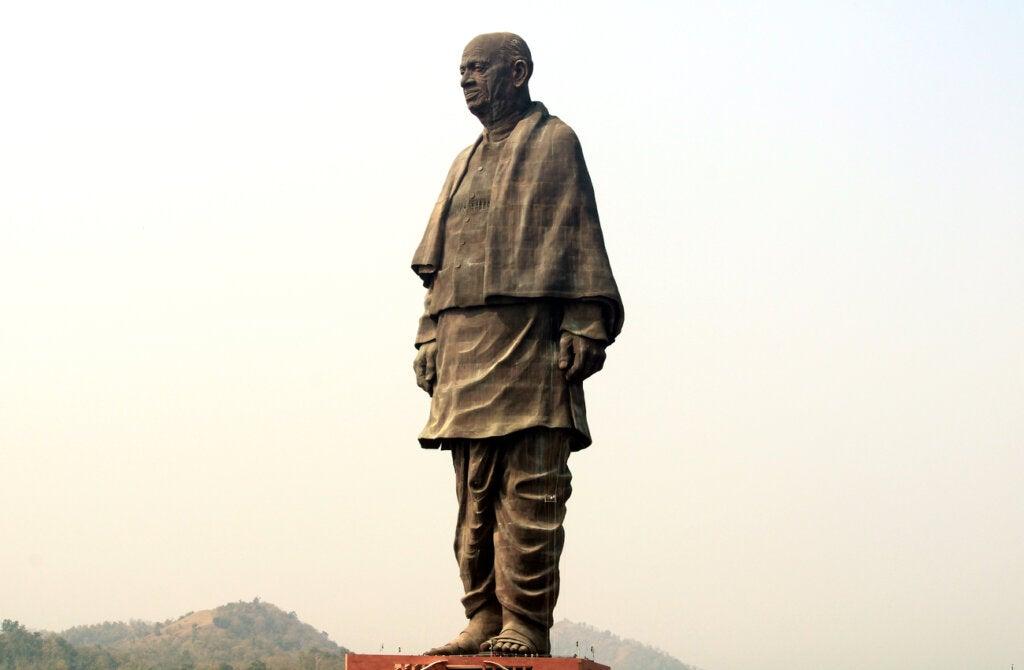 La Estatua de la Unidad es la primera entre las más grandes del mundo.