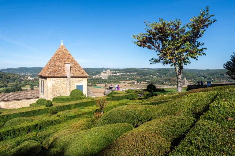 Marqueyssac, unos hermosos jardines en Francia