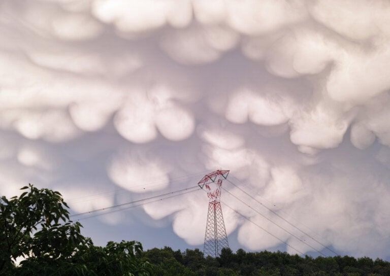 Las nubes mammatus en Texas: ¿por qué se forman?