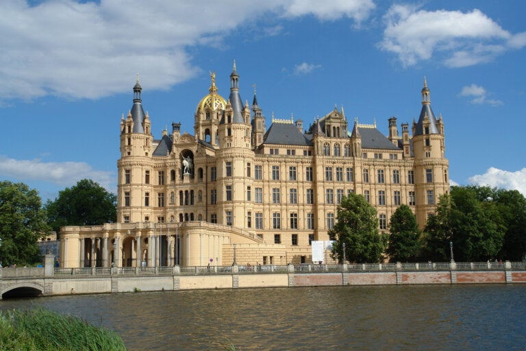 La historia del Palacio Schwerin en Alemania