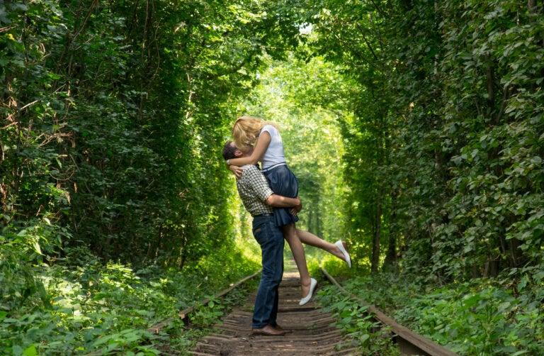 ¿Cómo se formó el túnel del amor en Klevan?
