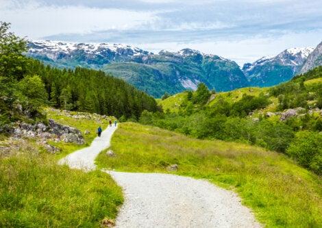 El Parque Nacional Folgefonna es un atractivo para conocer en Odda, Noruega.