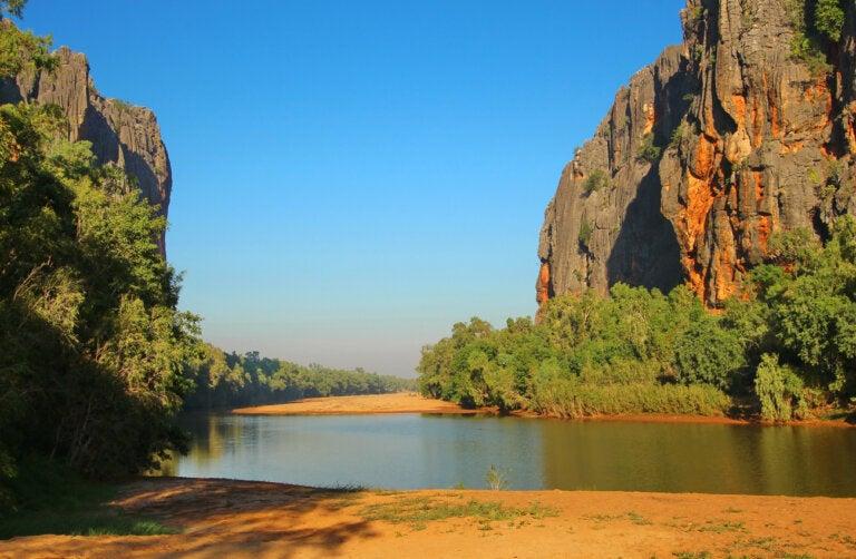Windjana Gorge: el parque nacional en la región de Kimberley