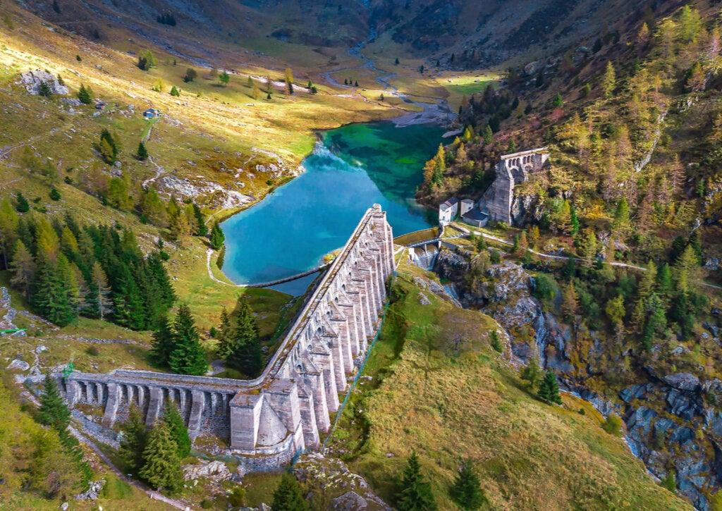 La presa de Gleno fue una construcción que llevó a una catástrofe.