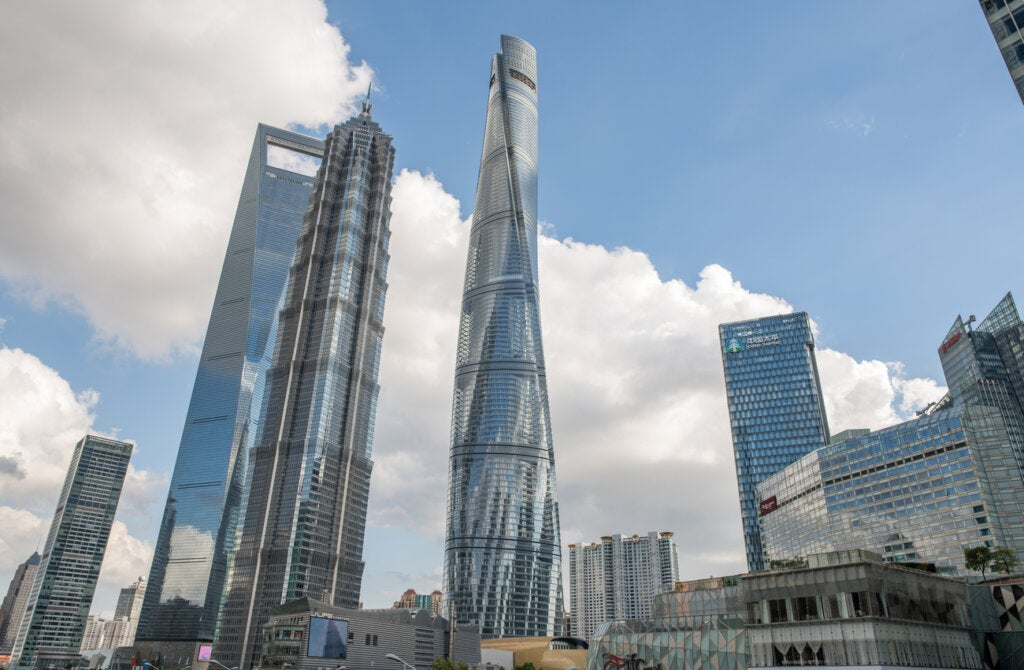 La Torre de Shanghái es uno de los mejores rascacielos de China y el mundo.