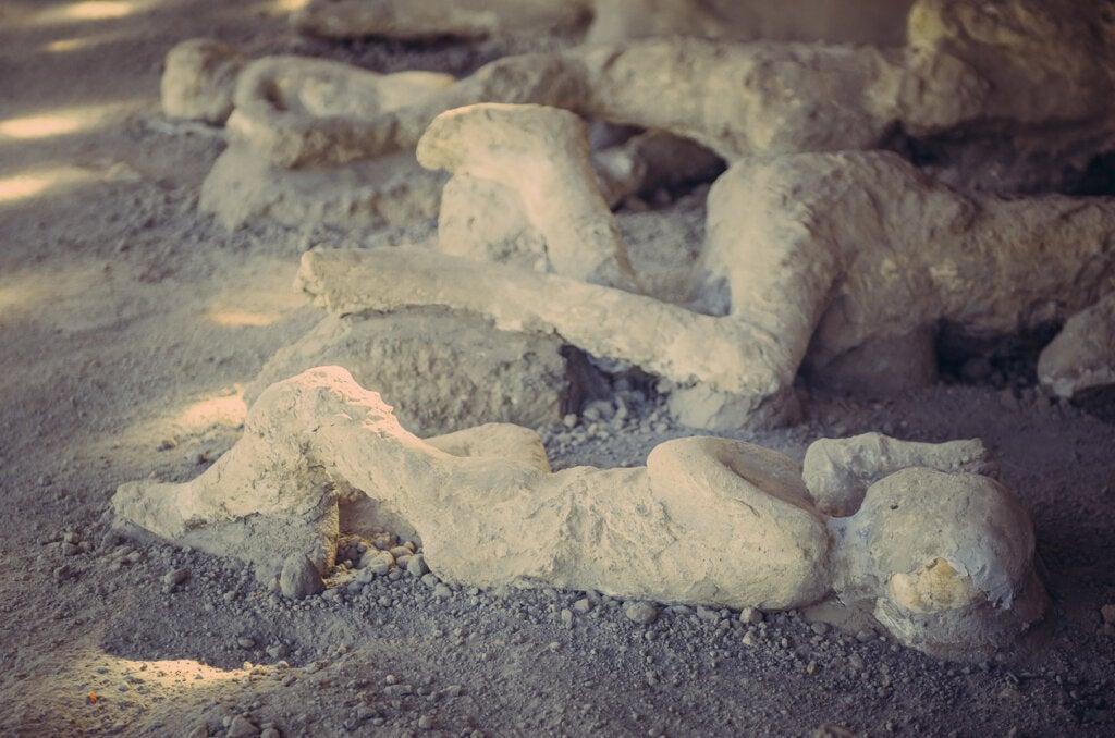 La ciudad de Pompeya y sus habitantes desaparecieron en cuestión de minutos.