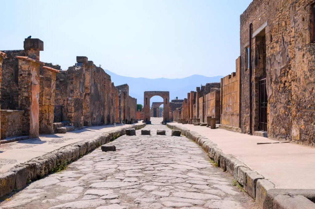 Pompeya, una ciudad sepultada por las cenizas