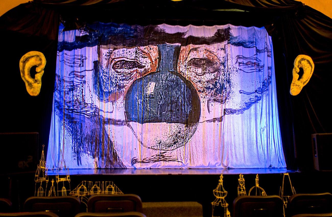 El teatro negro de Praga es uno de los atractivos de la ciudad.
