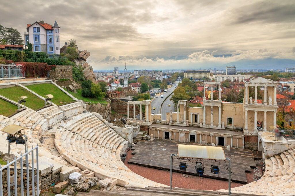 Plovdiv es considerada una de las ciudades más antiguas de Europa.
