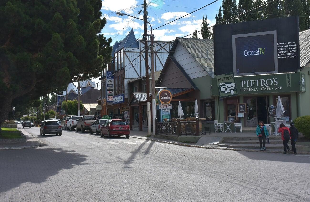 Centro de la ciudad de El Calafate.