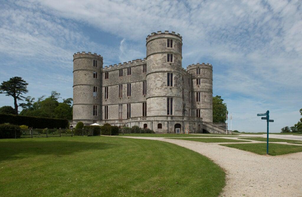 El castillo de Lulworth es uno de los grandes atractivos de esta zona.